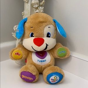 Baby plush toy with music